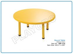 Play School Round Table (Without Chair)