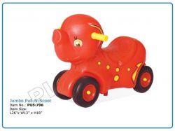 Jumbo Pull -N- Scoot