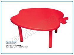 Play School Apple Table (Without Chair)