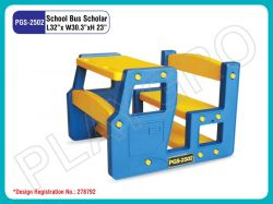 School Bus Scholar Single Desk
