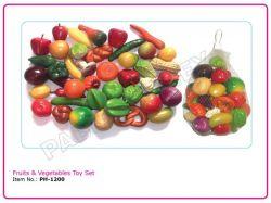FRUITS & VEGETABLES TOY SET