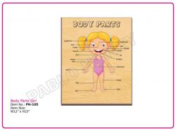 BODY PARTS GIRL