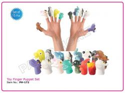 Toy Finger Puppet Set