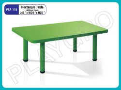 Play School Rectangle table - Green